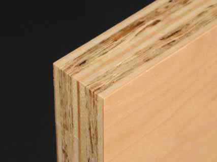 "Art Boards™ Archival Natural Maple Painting Panel has a solid 1"" thick edge."