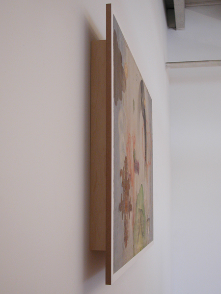 mounting artwork on paper
