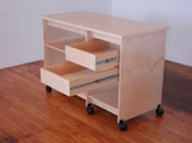 Art Storage cabinet drawers; made for storing art will fit into any of Art Boards� Art Storage Systems.
