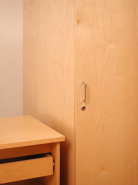 Art Studio Art Storage Furniture with locking door for storing ...