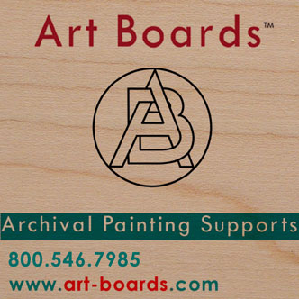 Archival Wood Painting Supports for artist to paint on.