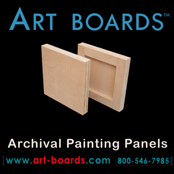 Archival Painting Panel by Art Boards™ Archival Art Supply