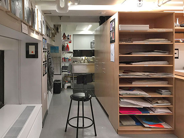 Archival Art Supply Storage for Art Studios and Art Schools.
