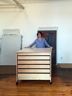 Artist Studio Rolling Drawer Furniture System by Art Boards™.