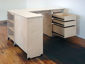 Art Studio Furniture made by Art Boards™ in Brooklyn New York.