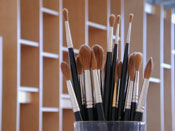 Art Painting Storage System for organizing and storing art.