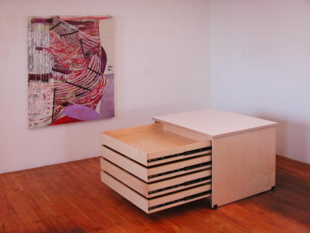 Art Storage Drawer System for storing fine art in drawers. & Art Studio Art Storage Drawers made by Art Boards™ Archival Art Supply.