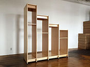 Art Studio Stepped Art Storage System by Art Boards™ Archival Art Supply.