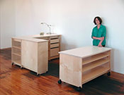 Art Studio Furniture made in Brooklyn by Art Boards™ Archival Art Supply.