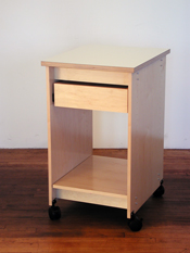 Art Boards™ Art Studio Furniture is modular with wheels that lock in place.