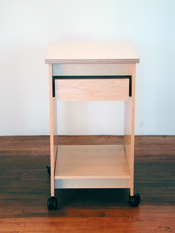 "This Art Storage Table measures 19.50"" wide x 25.25"" deep, x 36"" in height."