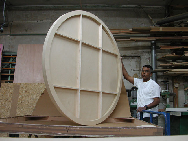 art boards round wood archival art panels are made in 10 stock size