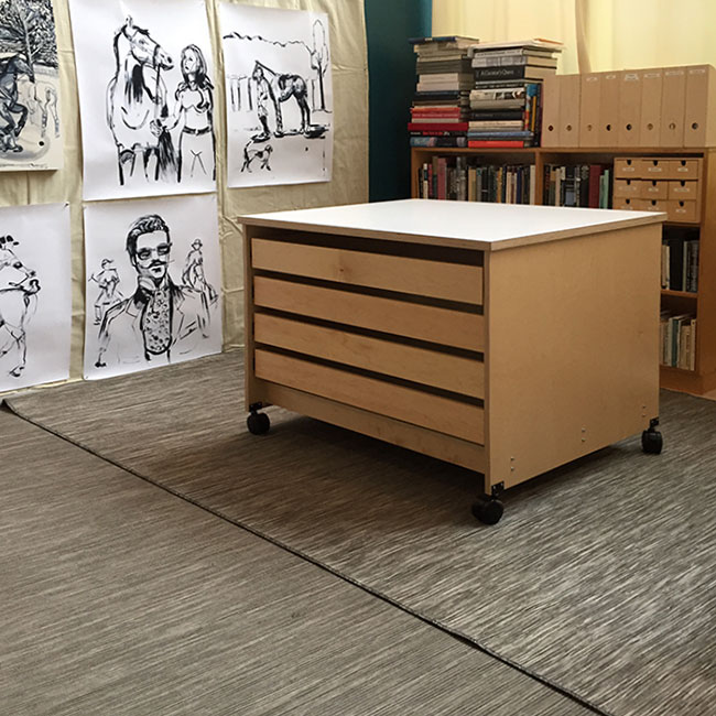 Art Studio Furniture Drawers For Fine Storage And Storing Supplies