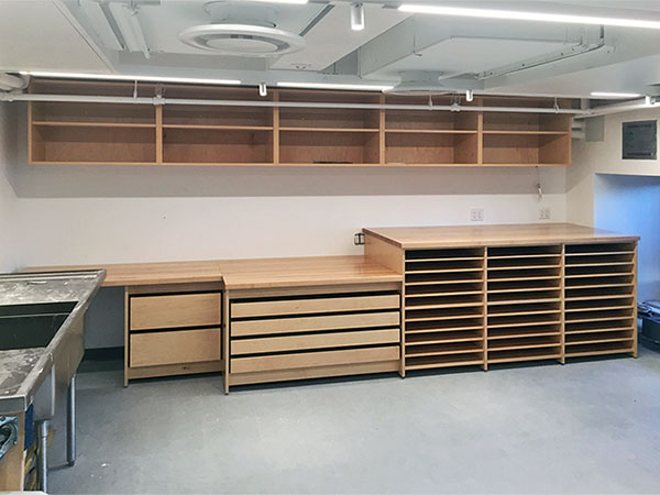 Photography Studio School Classrooom Storage Cabinets.