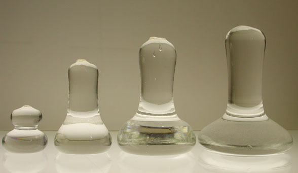 Art Boards™ glass mullers are made in 4 sizes.