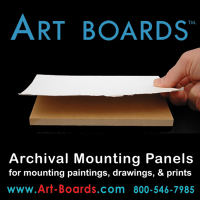 Archival Mounting Panels for Mounting Art; Paintings, Drawings, Prints, and Photos.