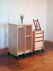 Art Storage Furniture by Art Boards™ is made for storing art, and art supplies in the artist studio.