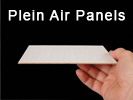 "Archival Plein Air artist painting panels are 1/16"" thick."