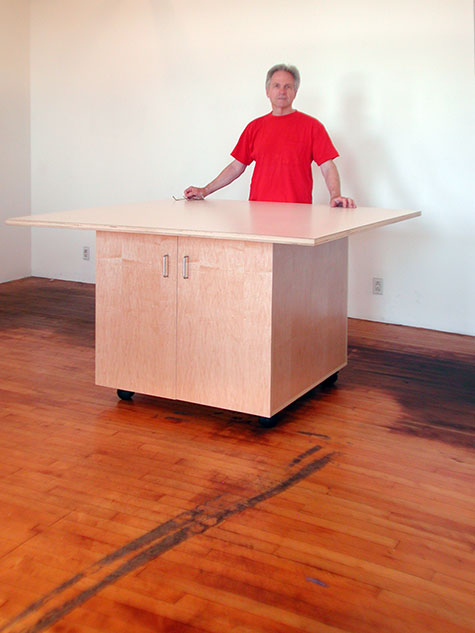 Art Studio Tables Made By Art Boards™ Are For Making Art, Storing Art And