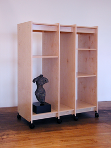 Art Storage System for storing sculpture, paintings, and all other fine art.