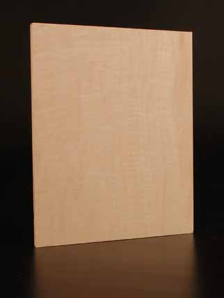 Art Boards™ Uncradled Natural Maple Artist Panel for making paintings.