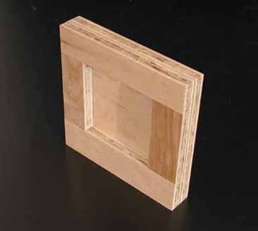 "Art Boards™ Maple Cradled Painting Panel is 1"" thick."