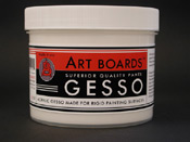 Art Boards™ Acrylic Panel Gesso performs like a Traditional Gesso.