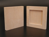 Natural Maple Cradled Artist Panels.